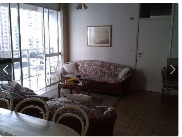 Apartamento com 3 dormitórios à venda, 120 m² por R$ 472.000,00 - Vila Luis Antônio - Guarujá/SP