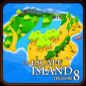 Cover art The Escape Island Treasure 8
