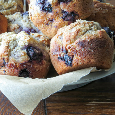 Gluten-Free Bakery Style Blueberry Muffins