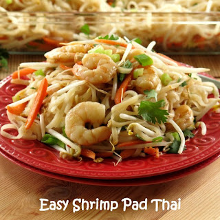 Easy Pad Thai for #WeekdaySupper and #ChooseDreams