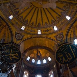 Ayasofia by Sanil Photographys - Buildings & Architecture Architectural Detail ( art, sanilphotography, ayasofia, architecture, istanbul, turkey )