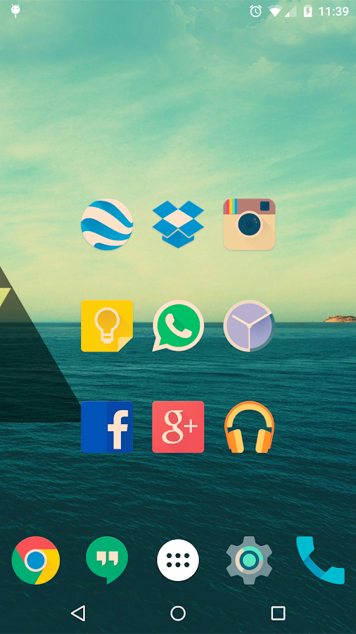 Iride UI is Hipster Icon Pack Screenshot 1