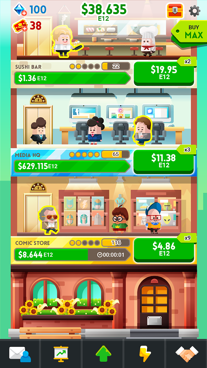 Cash, Inc. Money Clicker Game & Business Adventure Screenshot 9
