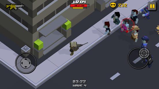 Cube Zombie War (Mod Money)