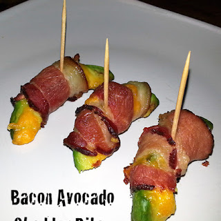 Bacon Avocado Cheddar Bites