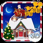 3D Merry Christmas Theme Icon