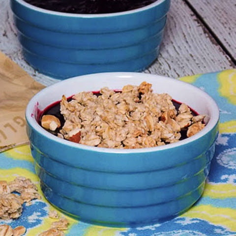 Stove-top Fruit Crisp #Gluten Free