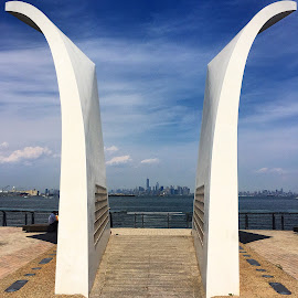 911 Memorial on Staten Island by Renato Strassmann - City,  Street & Park  Historic Districts ( staten island, 911 memorial, manhattan, nyc, new york city )