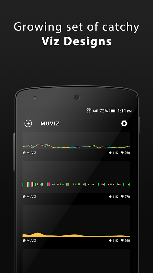 MUVIZ Nav Bar Audio Visualizer Screenshot 4