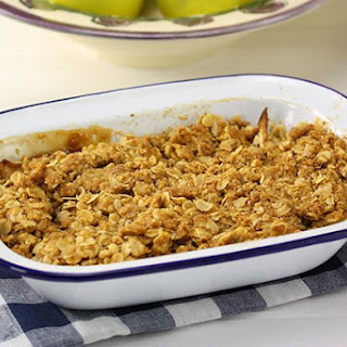 Low Fat Apple & Pear Crumble