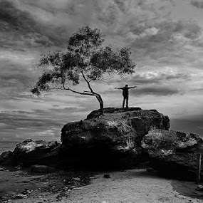On the Rock by Dadan Supardan - Landscapes Travel