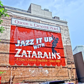 Jazz It Up by Gary Ambessi - City,  Street & Park  Historic Districts