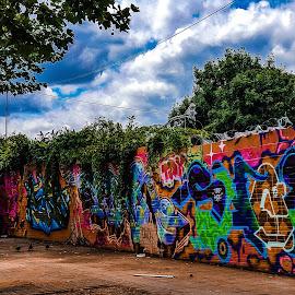 Grafite  by Claudio de Freitas Photography - City,  Street & Park  Street Scenes ( london brixton lambeth photography,  )