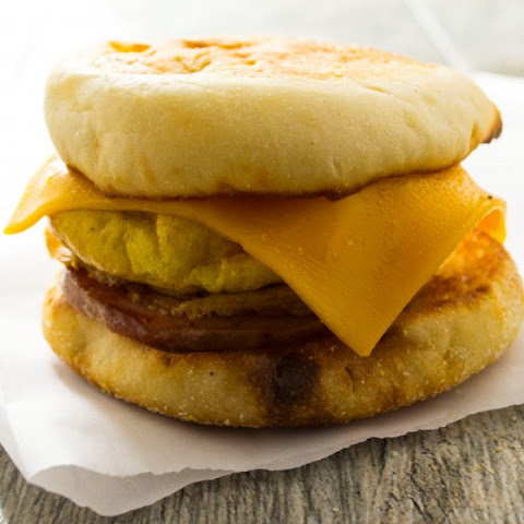 Make Ahead Freezer Breakfast Sandwiches