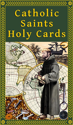 Catholic Saints Holy Cards - screenshot