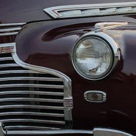 Classic Chevrolet by Chuck Campbell - Transportation Automobiles ( car, k3, smc pentax f 28mm f2.8, automobile, pentax )