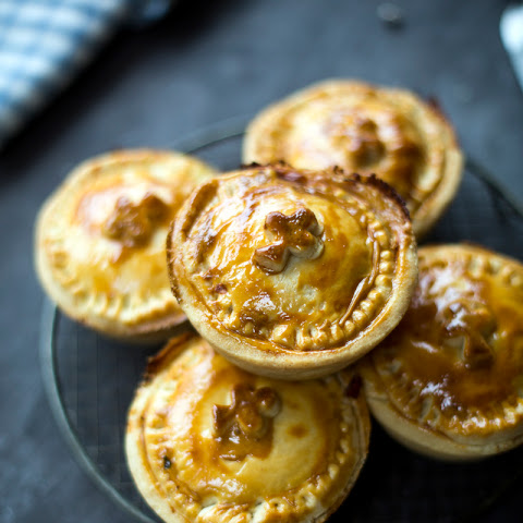 Individual Bacon & Cabbage Pies