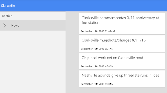 Clarksville News - screenshot