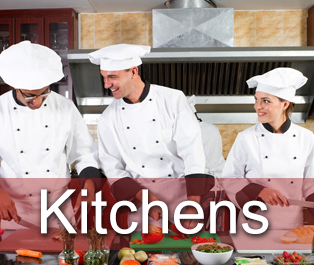 kitchen linen covering chef aprons and kitchen cloths