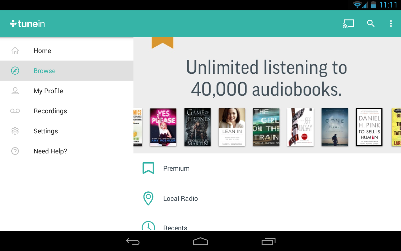 TuneIn Radio Pro - Live Radio Screenshot 13
