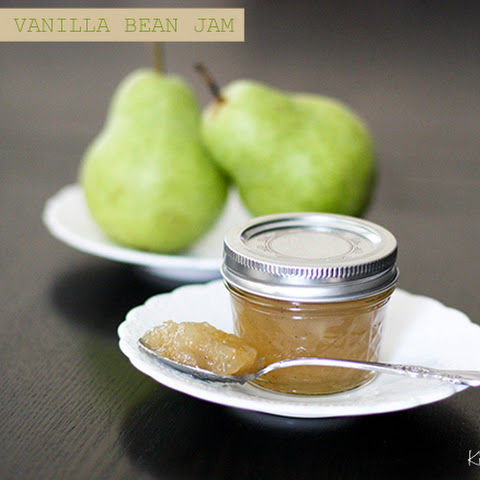 Pear and Vanilla Bean Jam