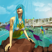 Download Mermaid Water Race 2017 : Cute && Fancy Mermaids APK for Android Kitkat