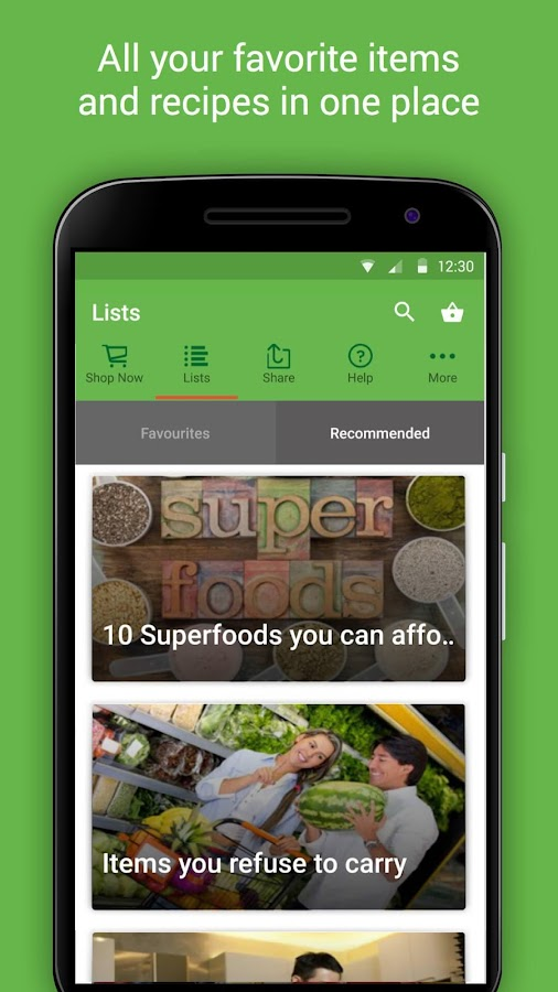 HappyFresh - Grocery Delivery Screenshot 5
