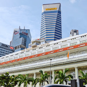 The Fullerton Hotel by Saut Nababan - City,  Street & Park  City Parks