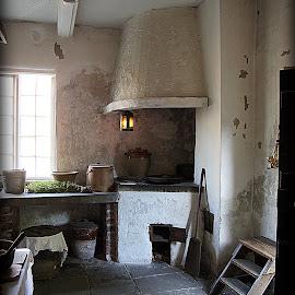 Apprentice House Kitchen Quarry Bank Mill by Caroline Beaumont - Buildings & Architecture Public & Historical ( apprentice house kitchen quarry bank mill )