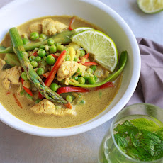 Chicken Curry with Spring Vegetables