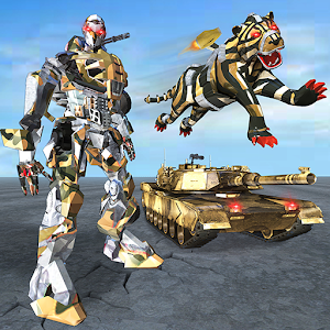 Furious Wild Tiger Robot Tank Robot Transform Game For PC (Windows & MAC)