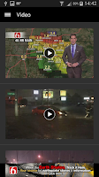 Screenshot of News On 6 Weather