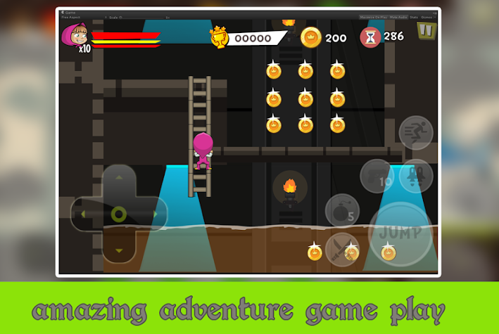 Masha Adventure Rescue Games Screenshot