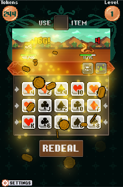 Pixel Poker Battle Screenshot 2