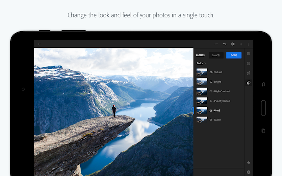 Adobe Photoshop Lightroom APK screenshot thumbnail 7