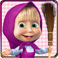 Game Masha and the Bear: House Cleaning Games for Girls APK for Windows Phone
