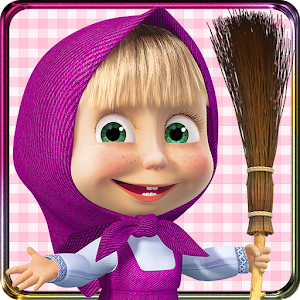 Masha and the Bear: House Cleaning Games for Girls For PC (Windows & MAC)