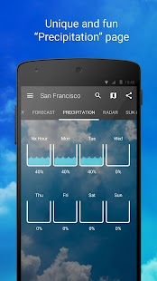 1Weather: Wetter-App Screenshot