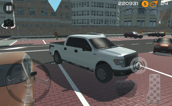 android Amazing Car - Parking Free Screenshot 6