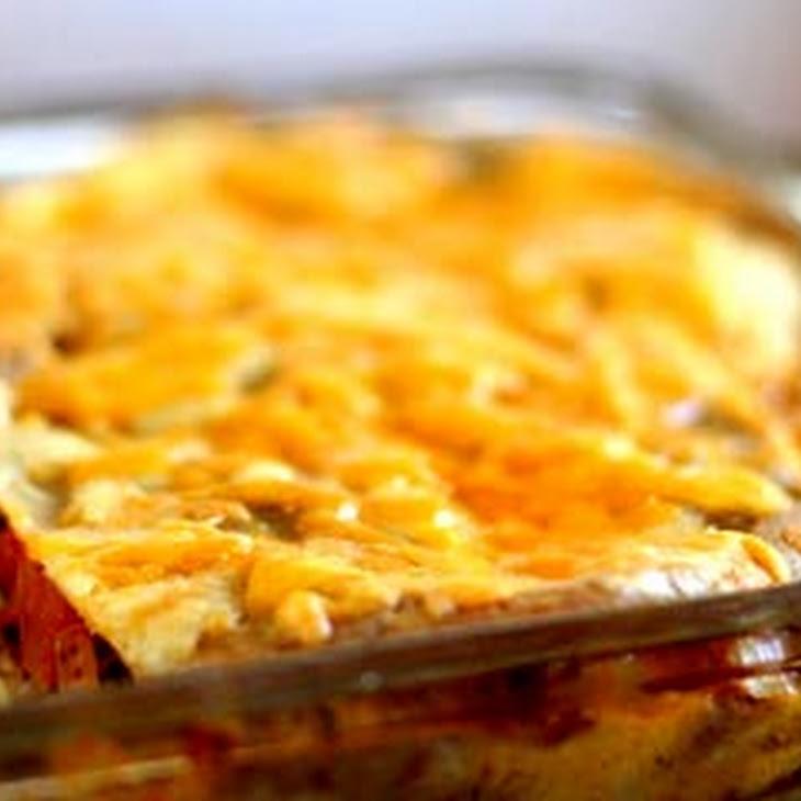 Tex-Mex Lasagna Recipe | Yummly
