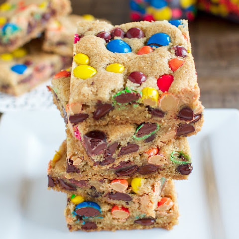 Reese's and M&M Chocolate Chip Bars