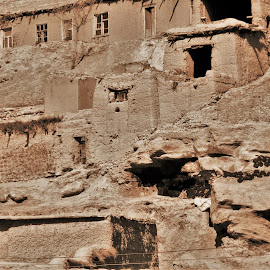 Adobe homes  by Benito Flores Jr - Buildings & Architecture Architectural Detail ( soldier, afghanistan, buildings, adobe, homes, united states )