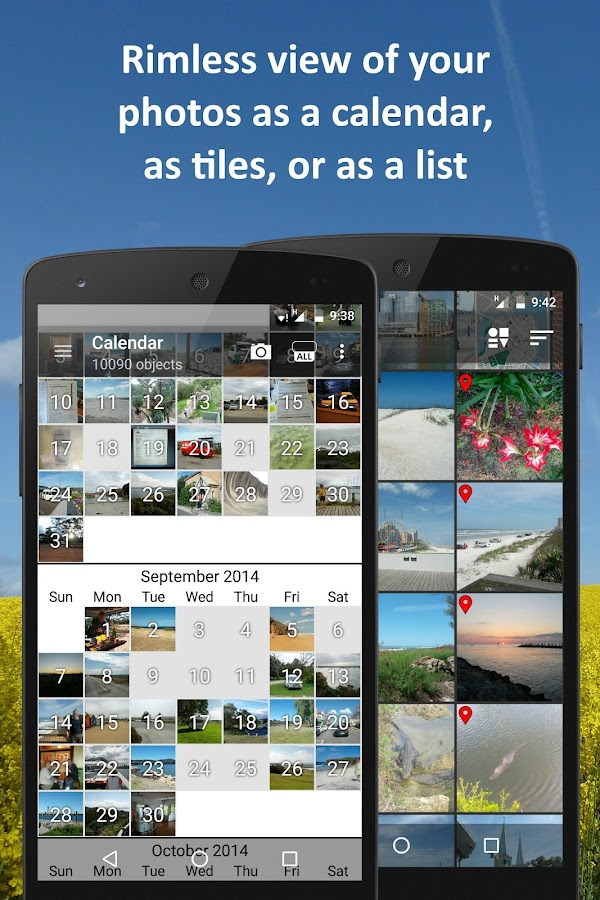 PhotoMap Gallery - Photos, Videos and Trips Screenshot 3
