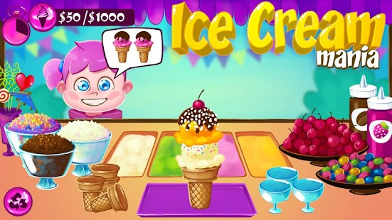 Ice Cream Mania - screenshot