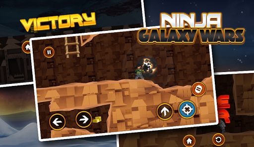 Star Ninja Go War - Galaxy Quest For PC