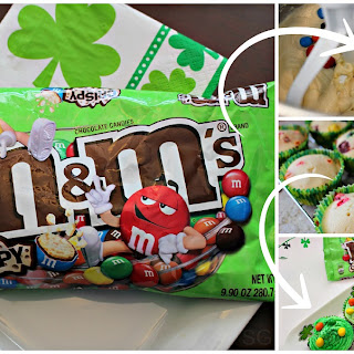 M&M's® Crispy St. Patty's Day Cupcakes