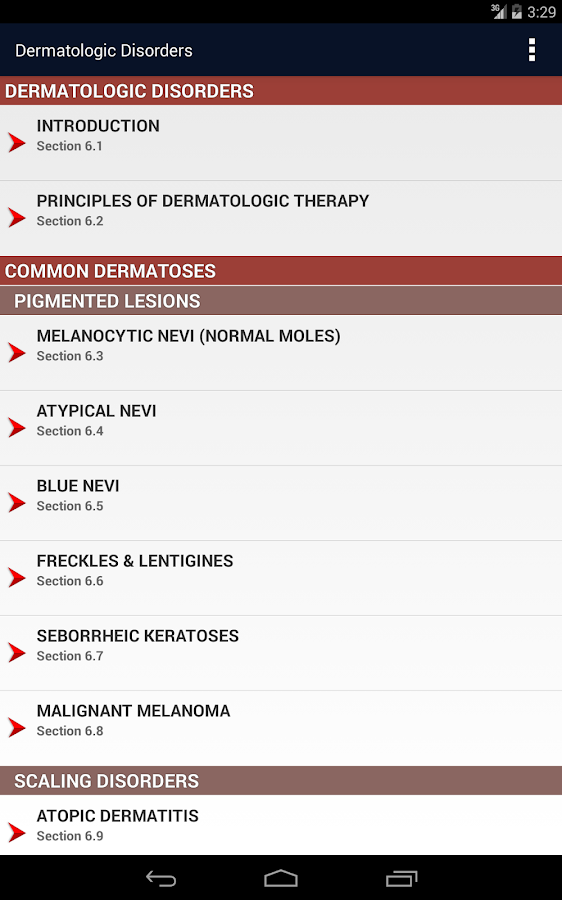 CURRENT Medical Diag & Treat. Screenshot 18