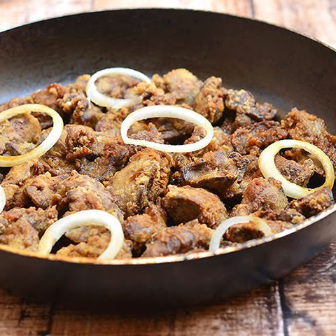 Crispy Spiced Chicken Livers Recipe — Dishmaps