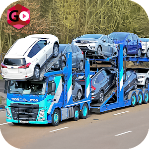 Car Transport Euro Truck Icon