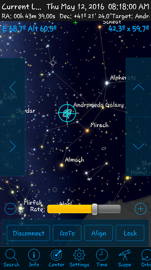 StellaAccess Planetarium Screenshot 4